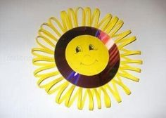 cd sun craft | Crafts and Worksheets for Preschool,Toddler and Kindergarten