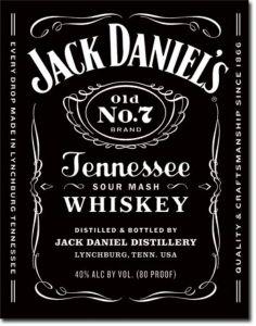Jim Beam Woodcut Label Kentucky Straight Bourban Whiskey  Tin Metal Sign #1652