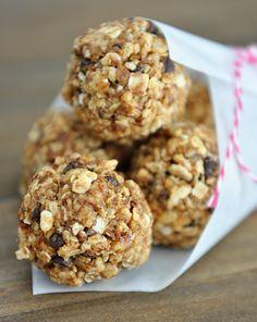 No-Bake Granola Bites @Mel {Mel's Kitchen Cafe}