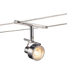 Tension Wire Adjustable Spot Light - 3 Finishes