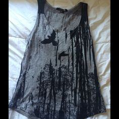 Tank Top Cute tank top. Good condition Forever 21 Tops Tank Tops
