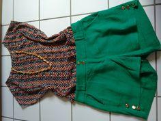 Um look fashion pra curtir seu findi com as amigas! Short da Mariá - blusa da Dione's - colar by Paulista Mall