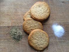 Clean Salt and Pepper Shortbread Cookies
