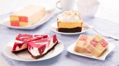 Co si budeme nalhávat, moučník může být sebelepší, ale každý si stejně nejdříve všimne toho, jak vypadá. Zkuste proto oslnit nejen mlsné jazýčky, ale ikritické oči. Naservírujte jim moučník vpodobě řezů. Cheesecake, Pudding, Brownies, Cake Brownies, Cheesecakes, Custard Pudding, Puddings, Cherry Cheesecake Shooters, Avocado Pudding