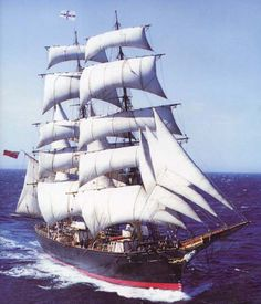 """The """"James Craig"""" is one of only four operational 19th century barques in the world still capable of sailing – the others are the Star of India in San Diego, California, (1863), Elissa in Galveston, Texas, (1877) and Belem in France (1896)"""