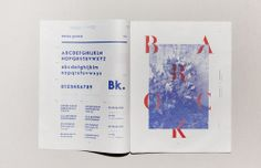 maybeitsgreat:  Unquoted sheets, 2012 by Les Graphiquants from...