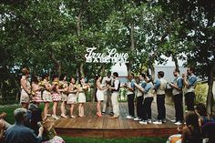 wedding ceremony sign - true love is a big deal