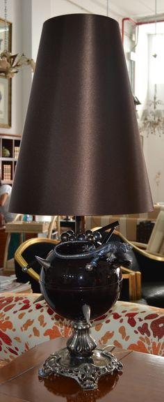 Lámpara sobremesa  md.360-7 Medidas:  0,85 alto. Consultar precio con descuento especial.Unidades disponibles 1