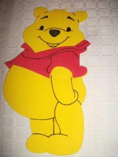 Figuras En Goma Eva De Winnie Pooh Y Sus Amigos. Mercado Libre 51cd942e806