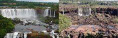 11 DE ABRIL DE 2012  Cataratas del Iguazú sin agua por sequía!