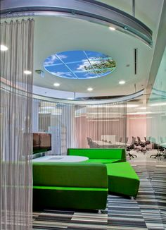 Biophilic Office Designs by Sky Factory