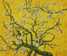"goodreadss: "" Branches of an Almond Tree in Blossom, Vincent van Gogh """