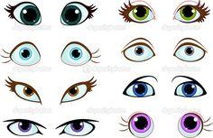 ojos dibujados - Buscar con Google