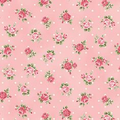 RURU Bouquet Rose For You Cotton Fabric Quilt by agardenofroses