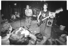 Jesus Lizard at The Axiom in Houston, TX, likely 1990.