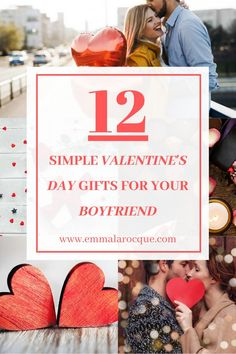 Romantic, creative, and DIY Valentine's Day gifts for boyfriends! These cute ideas are great for everyone! For teenagers, for men, for boyfriends of all ages! Unique, funny, cheap, or homemade Valentine's Day gifts! Find the perfect Valentine's Day gift for your boyfriend! Find the perfect romantic Valentine's Day gifts for him, and find creative and quirky Valentine's Day gifts for years to come. Cute ideas for your boyfriend! #valentines #valentinesday #boyfriend #gift