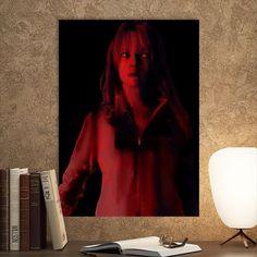 Metal Poster Uma In Red