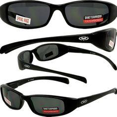 NEW ATTITUDES - Stylish Sunglasses - Smoke Lenses, MATTE Black Frame by Global Vision Eyewear. $9.64. Save 20%!