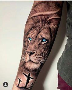 Lion Arm Tattoo, Lion Forearm Tattoos, Lion Tattoo Sleeves, Lion Head Tattoos, Mens Lion Tattoo, 4 Tattoo, Cool Arm Tattoos, Best Sleeve Tattoos, Lion Tattoos For Men