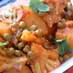 Veganes Gemüsecurry im Schnellkochtopf @ de.allrecipes.com