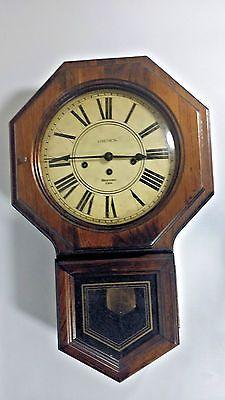 Quartz Westminster Chime Wall Clock Schoolhouse Oak Wall