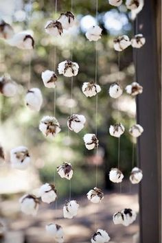cotton strands