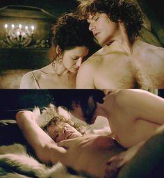 Claire (Caitriona Balfe) and Jamie's (Sam Heughan) Wedding Night | Outlander on Starz