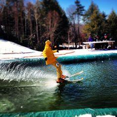 #pondskimming #burkemountain #water #winter #vermont #contest