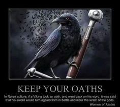 Keep your oaths