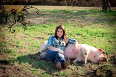 Senior Portrait ideas- Include your pet or your FFA project!