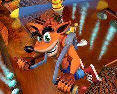 November 2013 - If you're old enough to remember the first Playstation, then you've heard of Crash Bandicoot. Created in 1996 by Naughty Dog – the same developers behind Spyro The Dragon, Crash Bandicoot, Donkey Kong, Free Fun, Online Games, Art Pictures, Scooby Doo, Comebacks, Sonic The Hedgehog
