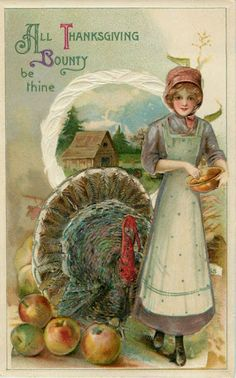 Thanksgiving paper dolls and vintage post cards - Bobe Green - Álbumes web de Picasa
