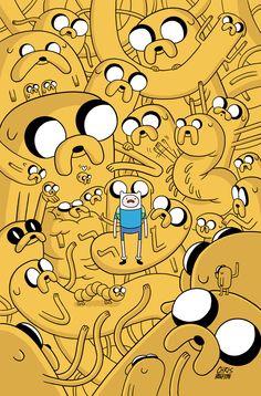 Adventure Time with Jake the Dog and Finn the Human Adventure Time Finn, Adventure Time Comics, Fin And Jake, Jake The Dogs, Finn The Human, Cartoon Cartoon, Comic 8, Comic Books, Abenteuerzeit Mit Finn Und Jake