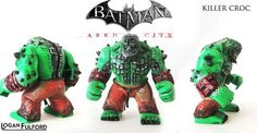 Arkham City Killer Croc Custom Minifigure