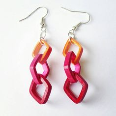 Check out this item in my Etsy shop https://www.etsy.com/listing/239759409/square-loop-earrings-made-from-orange