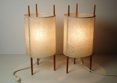 A Pair Of  Three Legged Cylinder Lamps 'nr. 9', Isamu Noguchi image 6