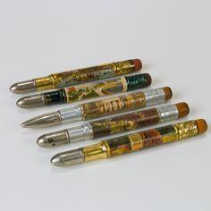 Vintage Tourist Attraction Bullet Pencils