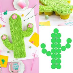 Separable cupcake cactus-shaped cake Separable cupcake cactus-shaped birthday Separable cupcake cactus-shaped cake Related posts:i hate falafels Llama Birthday, 7th Birthday, Mexican Birthday, Birthday Ideas, Birthday Parties, Taco Party, Fiesta Party, Kaktus Cupcakes, Cactus Cake