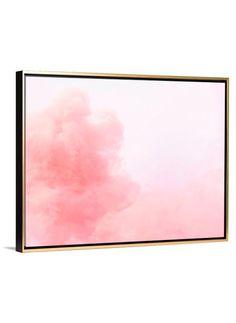 Fine Art Photography - Pink Cloud canvas print by Lindsay Letters. Lindsay Letters, Foil Art, Expressive Art, Pink Clouds, Canvas Prints, Art Prints, Fine Art Photography, Hand Lettering, Abstract Art