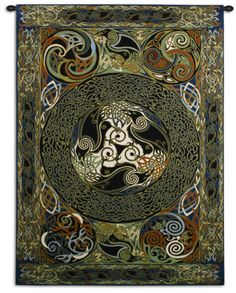 Ravens Panel Wall Tapestry by Jan Delyth at AllPosters.com