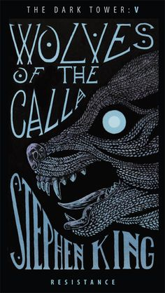 Wolves of the Calla (alternative cover) Art Print by Alex Rodway Illustration - X-Small Dark Tower Art, The Dark Tower Series, Book Cover Design, Book Design, Joe Hill Books, Dark Tower Tattoo, La Tour Sombre, Steven King, Stephen King Books
