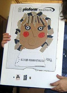 serenailbianconiglio: laboratorio sui ritratti con i bimbi delle elementari