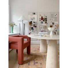 DIY: Inspierande anslagstavlor (An Interior Affair) Office Interior Design, Office Interiors, Best Office, Small Office, Home Upgrades, Deco Design, Love Home, Decoration, New Homes