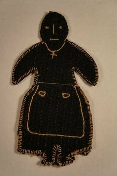 C needle and pin holder in the form of a black woman. Woolen Craft, Fibre And Fabric, Bead Sewing, Naive Art, Sewing Accessories, Brainstorm, Sewing Notions, Vintage Textiles, Black Wool