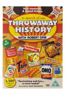 NEW IN.. In Search of our Throwaway History - Robert Opie,robert opie, wartime dvd, 1950's dvd, 1960's dvd, 1970's dvd