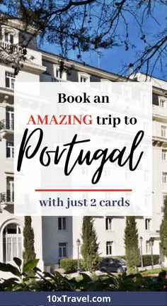 Discover Romantic Portugal and book your trip with our 2 card tips. Read how to use points and miles to travel the world. Hotel Rewards, Travel Rewards, Travel Goals, Best Travel Credit Cards, Rewards Credit Cards, Credit Score, Romantic Vacations, Romantic Getaways, Ways To Travel