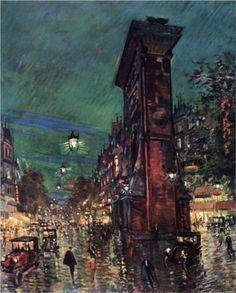 Paris. Saint Denis Arc - Konstantin Korovin