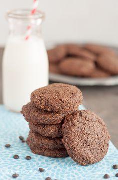 Paleo Double Chocolate Mint Cookies