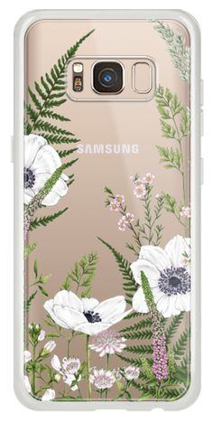Casetify Galaxy S8 Classic Snap Case - Wild Meadow by CATHERINE LEWIS DESIGN.