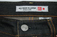 Raw Denim by Uniqlo Fall Fashion Trends, Autumn Fashion, Denim Shirt With Jeans, Denim Shirts, Uniqlo Jeans, Japanese Denim, Denim Branding, Raw Denim, Pink Brand